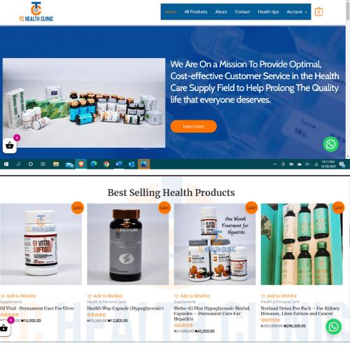 Website design agency Abuja Nigeria